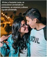 Una pareja de enamorados